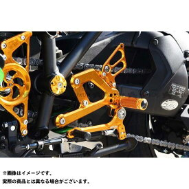 BABYFACE ニンジャH2 SX SE バックステップ関連パーツ バックステップキット カラー:ゴールド ベビーフェイス