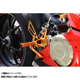 BABYFACE パニガーレV4 バックステップ関連パーツ バックステップキット カラー:ブラック ベビーフェイス