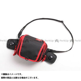デグナー ツーリング用バッグ NB-180 ナイロンタンクバッグポーチ カラー:ブラック/レッドパイピング DEGNER