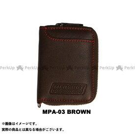 【エントリーで最大P21倍】MERCURY PRODUCTS 財布 BOXコインケース(ブラウン) マーキュリープロダクツ