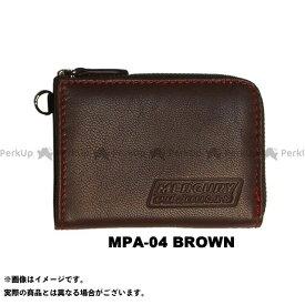 【無料雑誌付き】MERCURY PRODUCTS 財布 MINIウォレット(ブラウン) マーキュリープロダクツ