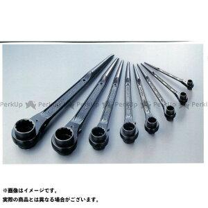 SUPERTOOL ハンドツール RN1012 両口ラチェットレンチ(爪式) スーパーツール