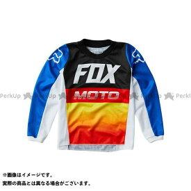【エントリーで最大P21倍】フォックス モトクロス用品 2020モデル キッズ 180 ジャージ ファイス(ブルー/レッド) サイズ:KM FOX