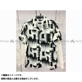 【エントリーで最大P21倍】CONTRIBE カジュアルウェア ポリトロオープンシャツ&ロングT&ネックレス【3点セットアンサンブル】(04ホワイトB) サイズ:L コントライブ