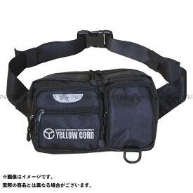 YeLLOW CORN ツーリング用バッグ YE-34 ウェストバッグ(ブラック) イエローコーン