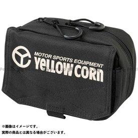 YeLLOW CORN ツーリング用バッグ YE-52 ミニポーチ(ブラック) イエローコーン