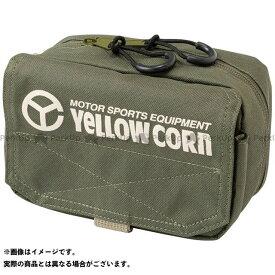 YeLLOW CORN ツーリング用バッグ YE-52 ミニポーチ(カーキ) イエローコーン