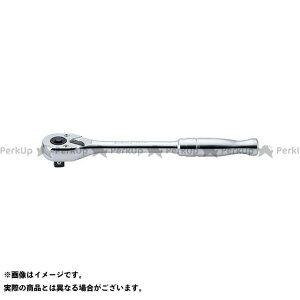 【無料雑誌付き】Ko-ken ハンドツール 3753PB 3/8(9.5mm)SQ. プッシュボタン式ラチェットハンドル(ポリッシュグリップ) 全長200mm コーケン