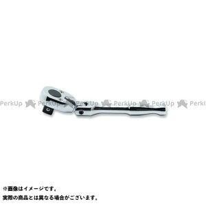 Ko-ken ハンドツール 2774PS-3/8 3/8(9.5mm)SQ. コンパクト首振りラチェットハンドル(ポリッシュグリップ) 全長120mm Ko-ken