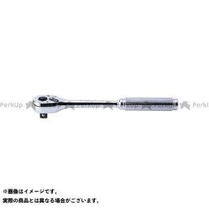 【無料雑誌付き】Ko-ken ハンドツール 4750NB 1/2(12.7mm)SQ. プッシュボタン式ラチェットハンドル(ローレットグリップ) 全長250mm コーケン