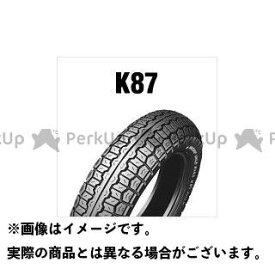 【エントリーで最大P19倍】DUNLOP 汎用 オンロードタイヤ K87MK-II 4.00H18 4PR(64H) WT リア ダンロップ