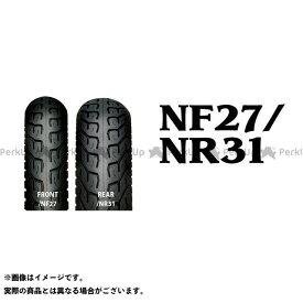 アイアールシー 汎用 オンロードタイヤ NF27 80/100-18 M/C 47P WT フロント IRC