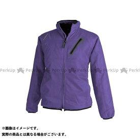 TS DESIGN ジャケット ライトウォームジャケット(パープル) サイズ:M TSデザイン