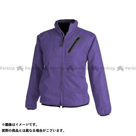TS DESIGN ジャケット ライトウォームジャケット(パープル) サイズ:3L TSデザイン