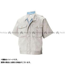 【エントリーで最大P19倍】TS DESIGN ジャケット 1456 半袖ブルゾン(グレー) サイズ:6L TSデザイン