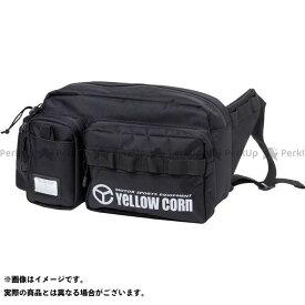 YeLLOW CORN ツーリング用バッグ YE-54 ウェストバッグ(ブラック) イエローコーン