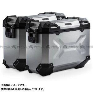 【雑誌付き】SW-MOTECH X-ADV ツーリング用ボックス TRAX ADV アルミ ケースシステム-シルバー-37/37 l. Honda X-ADV(16-).|KFT.01.889.70000/S SWモテック