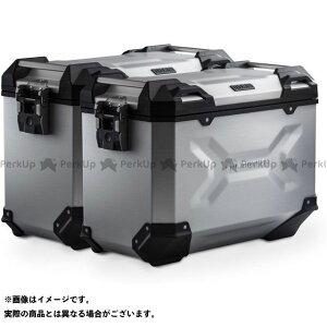 【雑誌付き】SW-MOTECH X-ADV ツーリング用ボックス TRAX ADV アルミ ケースシステム-シルバー-45/45 l. Honda X-ADV(16-).|KFT.01.889.70100/S SWモテック