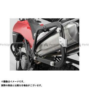 【雑誌付き】SW-MOTECH TR 650ストラーダ TR 650テラ キャリア・サポート QUICK-LOCK(クイックロック)EVO サイドキャリア ブラック Husqvarna TR 650 Terra/Strada(12-) SWモテック