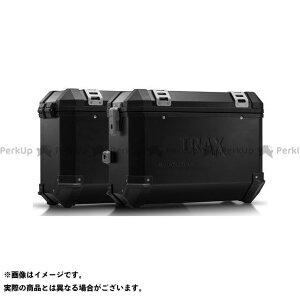 【雑誌付き】SW-MOTECH TR 650ストラーダ TR 650テラ ツーリング用ボックス TRAX(トラックス)ION アルミケースシステム ブラック 37/37 L. Husqvarna TR 650 Terra/Strada.|KFT. SW…
