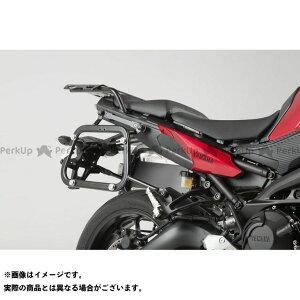 【雑誌付き】SW-MOTECH トレーサー900・MT-09トレーサー キャリア・サポート QUICK-LOCK(クイックロック)EVO サイドキャリア ブラック SWモテック