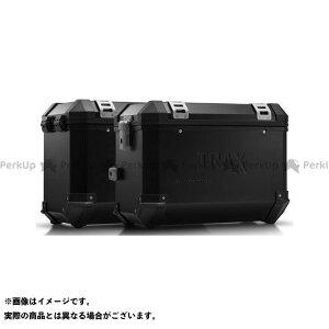 【ポイント最大19倍】SW-MOTECH ヴェルシス650 ツーリング用ボックス TRAX(トラックス)ION アルミケースシステム ブラック 45/45 L. Kawasaki Versys 650(15-)|KFT.08.518. SWモテック