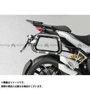【雑誌付き】SW-MOTECH ムルティストラーダ1200 ムルティストラーダ1200S ツーリング用ボックス QUICK-LOCK(クイックロック)EVO サイドケースキャリアー ブラック SWモテック