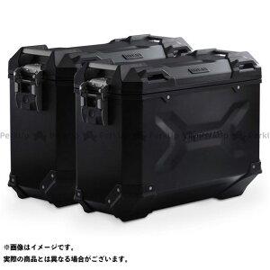 【雑誌付き】SW-MOTECH ムルティストラーダ1260 ツーリング用ボックス TRAX ADV アルミ ケースシステム -ブラック- 37/37 l. Ducati Multistrada 1260(18-).|KFT.22.892. SWモテック