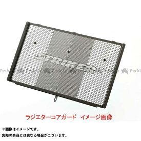 STRIKER ZRX1200ダエグ ラジエター関連パーツ ラジエターコアガード ZRX1200DAEG専用 スモークガンメタリック ストライカー