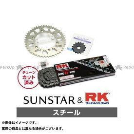 【特価品】SUNSTAR WR250R スプロケット関連パーツ KR36601 スプロケット&チェーンキット(スチール) サンスター
