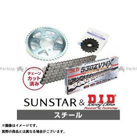 【特価品】SUNSTAR Z1-R Z1000 Z1000MK- スプロケット関連パーツ KD52215 スプロケット&チェーンキット(スチール) サンスター