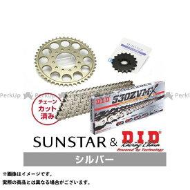 【無料雑誌付き】SUNSTAR GSX1100E GSX1100Sカタナ スプロケット関連パーツ KD5A212 スプロケット&チェーンキット(シルバー) サンスター