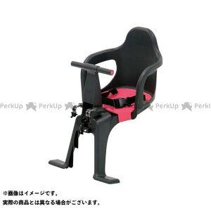 【無料雑誌付き】OGK giken アクセサリー 自転車 チャイルドシート(FBC-003S2)まえ乗せ(ブラック/ピンク) OGK技研(自転車)