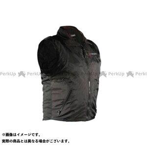 ウォームアンドセーフ 電熱ウェア・防寒用品 WS-VLM3 男女兼用ヒーテッド・ベスト(ブラック) S  Warm&Safe