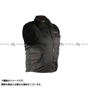 ウォームアンドセーフ 電熱ウェア・防寒用品 WS-VLM3 男女兼用ヒーテッド・ベスト(ブラック) L  Warm&Safe