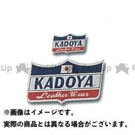KADOYA カドヤ ステッカー CROWN STICKER(ネイビー×レッド×ホワイト) 小/45mm×25mm