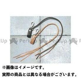 KADOYA カドヤ 小物・ケース類 No.8841 KADOYA ORIGINAL LEATHER WALLET STRAP .A ブラック