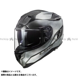 【ポイント最大18倍】LS2 HELMETS フルフェイスヘルメット CHALLENGER F/チャレンジャーF(チタニウム) サイズ:XXL エルエスツーヘルメット