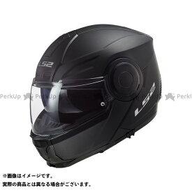【無料雑誌付き】LS2 HELMETS システムヘルメット(フリップアップ) SCOPE/スコープ(マットブラック) サイズ:XL エルエスツーヘルメット