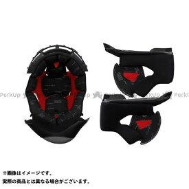 【無料雑誌付き】LS2 HELMETS ヘルメット内装オプション インナーセット IS-6(LS2) サイズ:L エルエスツーヘルメット