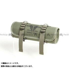 【無料雑誌付き】DEGNER ツーリング用バッグ NB-185 テキスタイルツールバッグ(カーキ) デグナー
