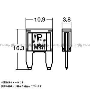 【無料雑誌付き】STANLEY 電子パーツ NO354 BPF-7150 15Aミニヒューズ スタンレー電気