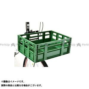 【無料雑誌付き】OGK giken その他 コンテナバスケット SPB-001 レトログリーン OGK技研(自転車)