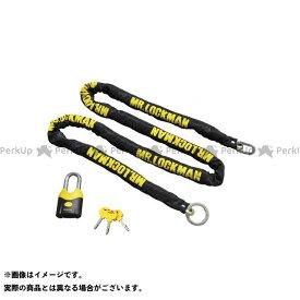 【雑誌付き】Mr.LOCKMAN チェーンロック ML-020 ストロング8 2.4m BK/YE ミスターロックマン