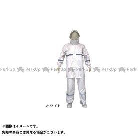 【無料雑誌付き】asahicycle ウェア スポルダー SPL-30 レインスーツ リュック型 ホワイト LL アサヒサイクル(自転車)