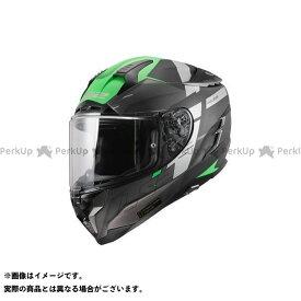 【ポイント最大18倍】LS2 HELMETS フルフェイスヘルメット CHALLENGER F(マットチタニウムグロウグリーン) サイズ:M エルエスツーヘルメット