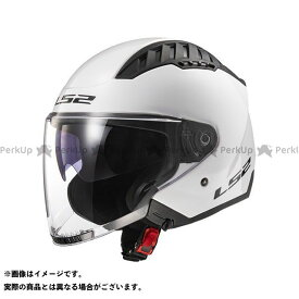 【ポイント最大18倍】LS2 HELMETS ジェットヘルメット COPTER(ホワイト) サイズ:XXL エルエスツーヘルメット