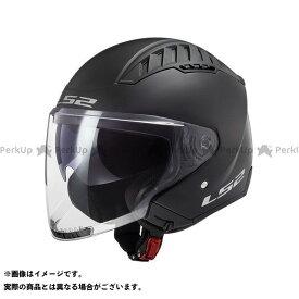 【無料雑誌付き】LS2 HELMETS ジェットヘルメット COPTER(マットブラック) サイズ:M エルエスツーヘルメット