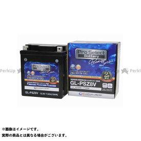 【無料雑誌付き】Pro Select Battery バッテリー関連パーツ 【1個売り】GL-PSZ8V(GTZ8V 互換)(ジェルタイプ 液入充電済) プロセレクトバッテリー