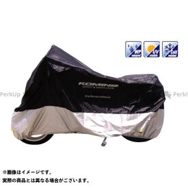 KOMINE ミニバイク用カバー AK-102 コンパクトモーターサイクルカバー(ブラック) XL コミネ